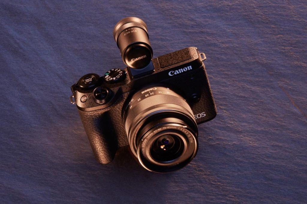 กล้องขนาดพกพา/ กล้องแคนอน/ canoneosm6ii