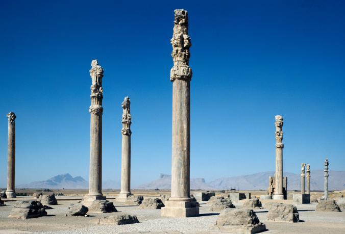 มรดกโลกอิหร่าน, เสาวิหาร, เที่ยวอิหร่าน