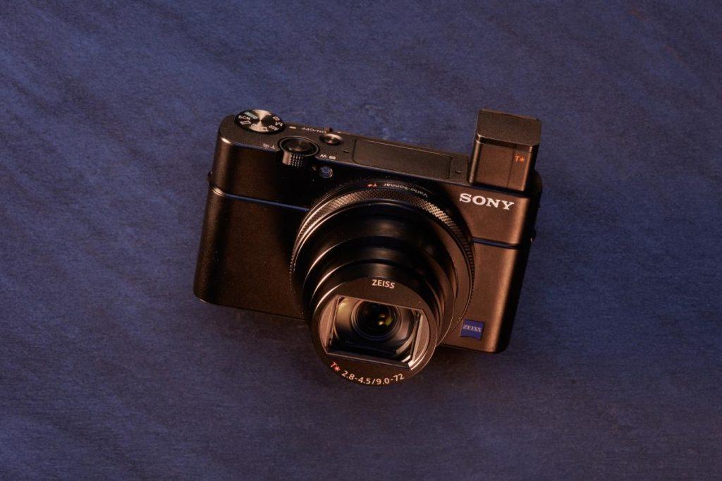 กล้องคอมแพค/ กล้องโซนี่/ sonyrx100vii/ กล้องขนาดพกพา/