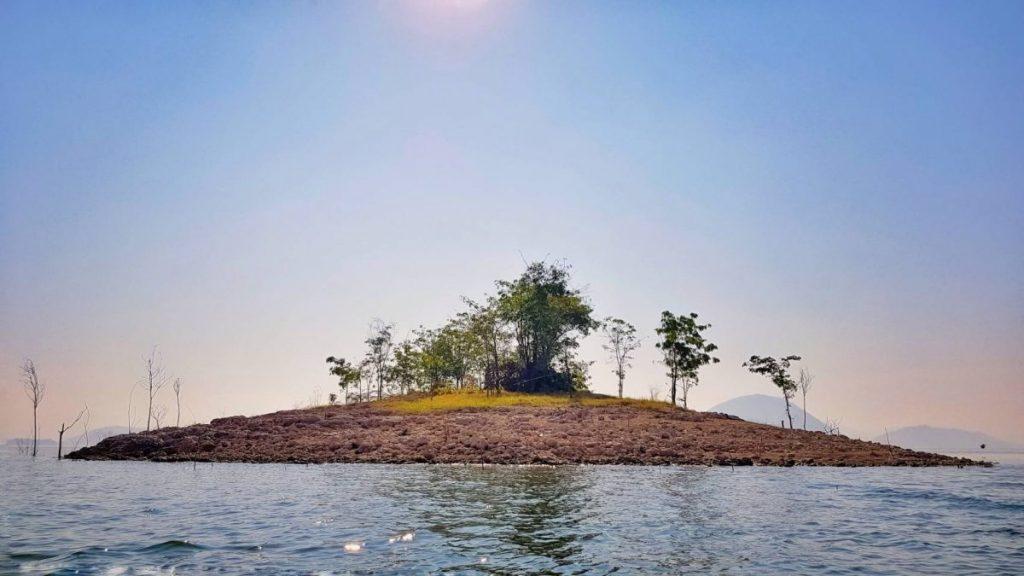 เกาะร้าง, เขื่อนศรีนครินทร์, แคมปิ้ง, เอาต์ดอร์, เที่ยวเขื่อน