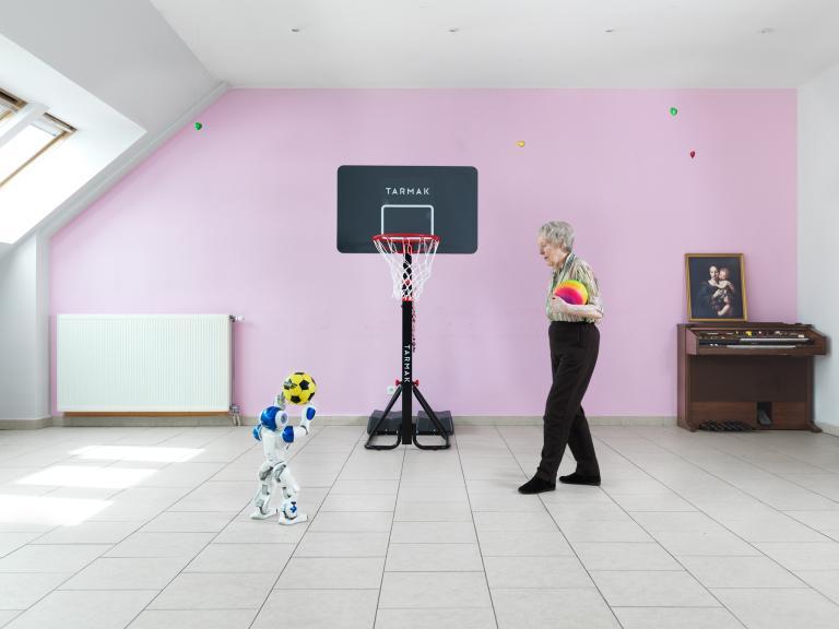 หุ่นยนต์บำบัด