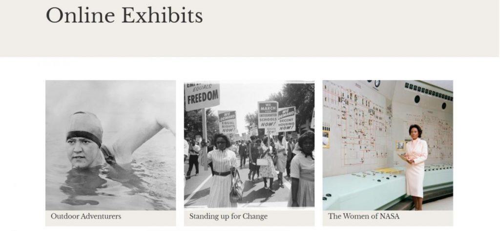 พิพิธภัณฑ์, นิทรรศการออนไลน์, การจัดนิทรรศการออนไลน์