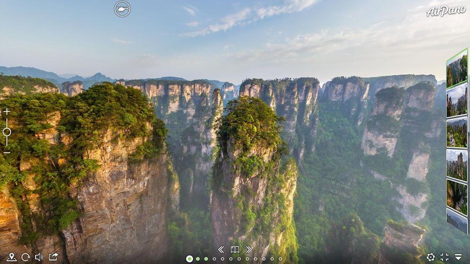 Virtual tour, Zhangjiajie