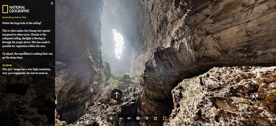 Virtual tour, ถ้ำซันดอง, เวียดนาม