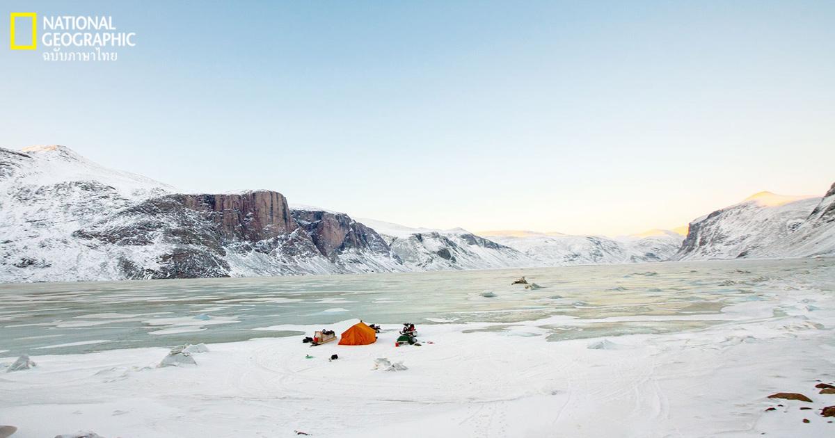 อาร์กติก, ตั้งแคมป์, แคมป์, ขั้วโลกเหนือ