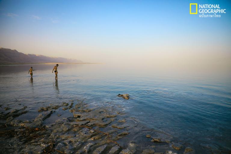 ชายหาดตะวันออกกลาง, เดดซี, ชายหาด, ทะเล,
