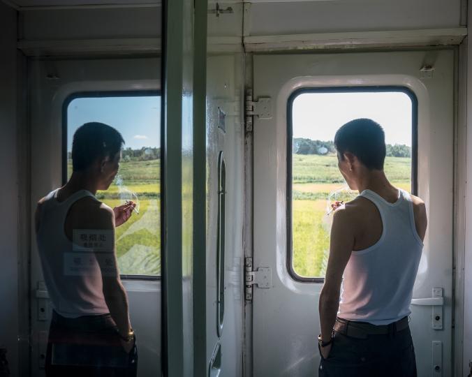 ผู้โดยสารรถไฟ, รถไฟ