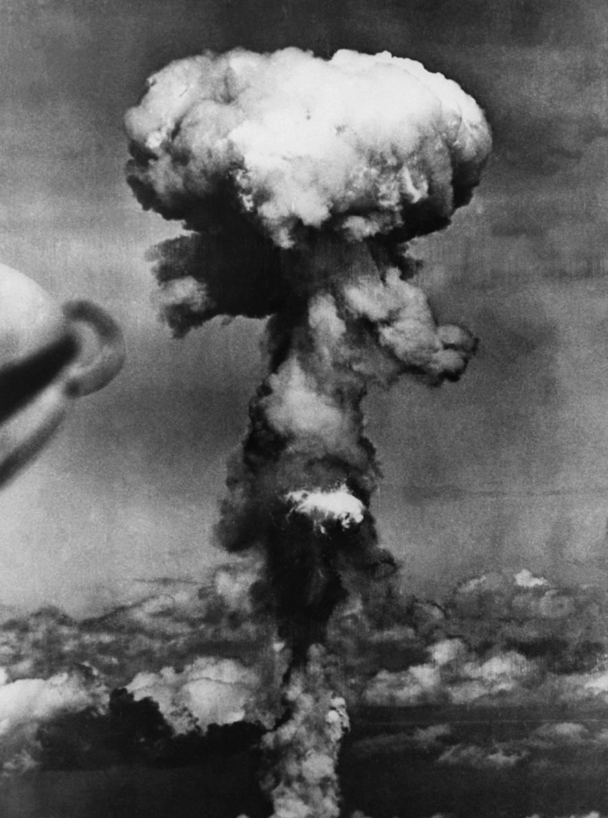 ระเบิดนิวเคลียร์, เมฆรูปเห็ด, ฮิโรชิมา