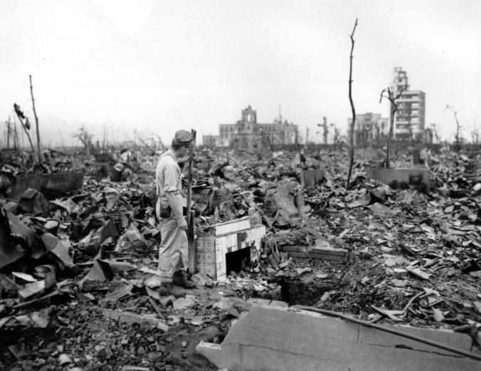 อาวุธนิวเคลียร์, สงครามโลกครั้งที่สอง, ฮิโรชิมา