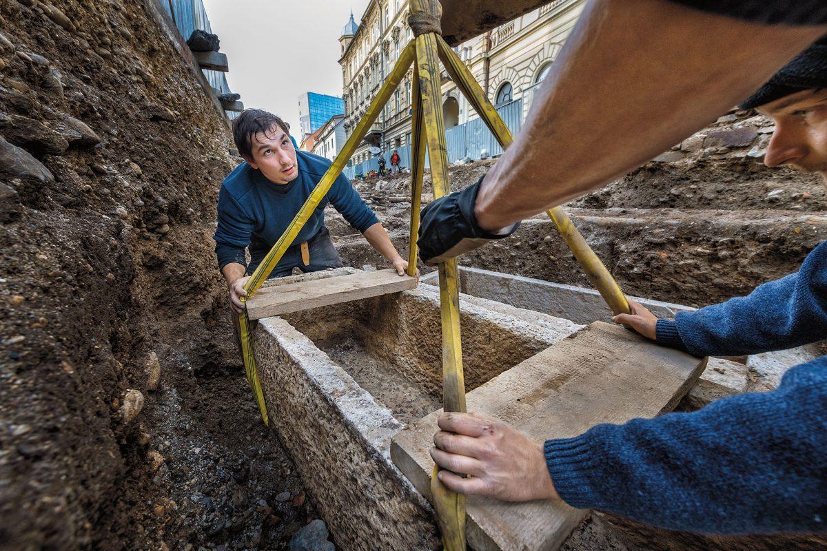 โลงหิน, โบราณคดี, สโลวีเนีย