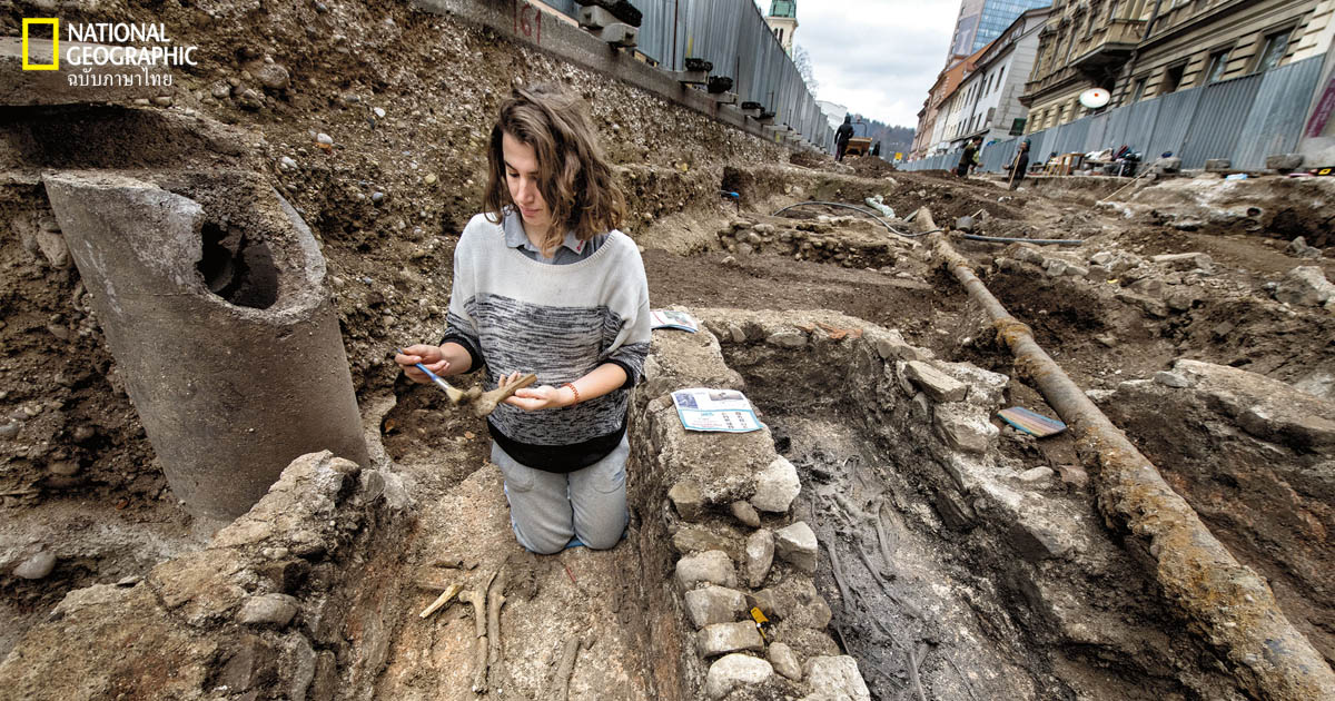 โบราณคดี, สโลวีเนีย, ยุคโรมัน