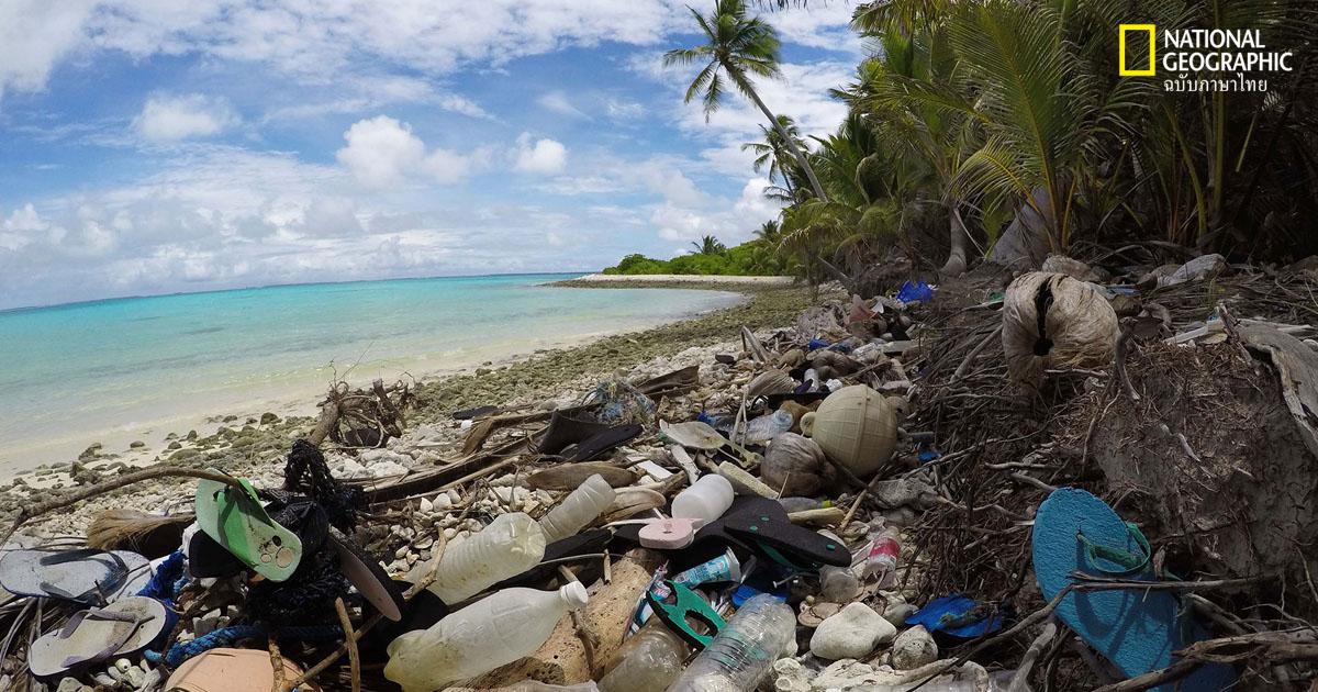 ขยะพลาสติกในทะเล
