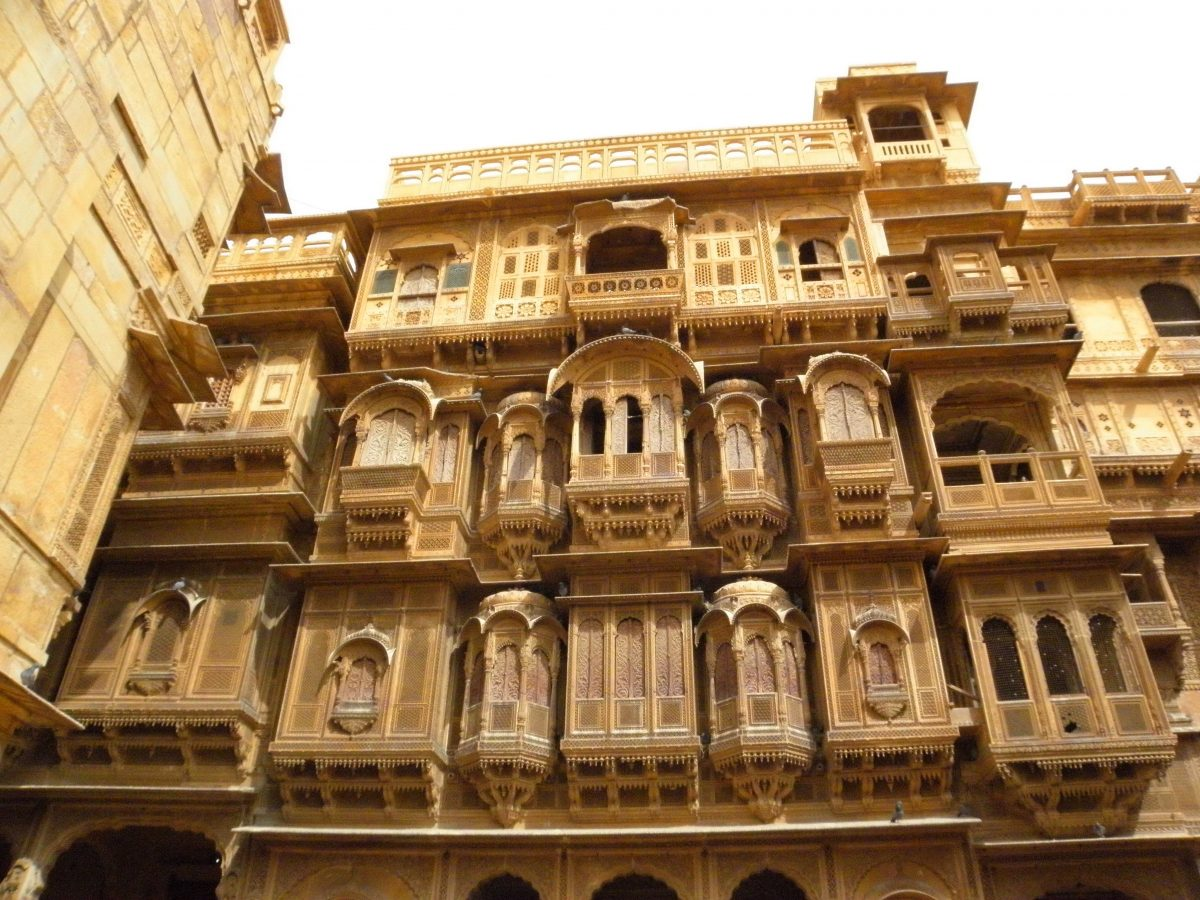 จาโรคา, สถาปัตยกรรฒ, อินเดีย, ราชสถาน, ไจยซัลเมียร์
