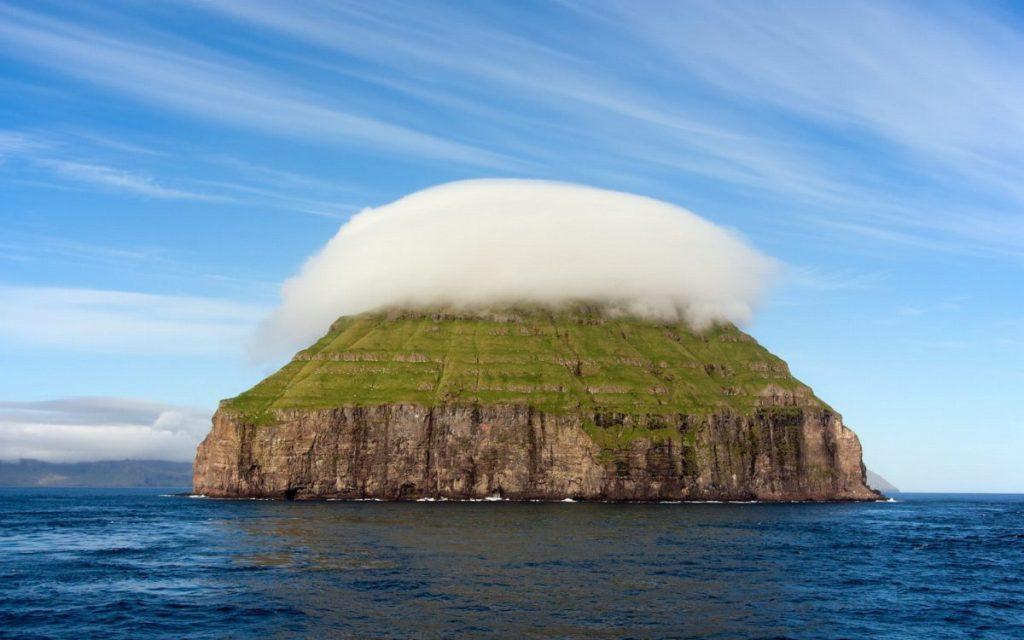 เมฆยอดเขา, เมฆหมวก, เมฆเลนส์, เมฆ