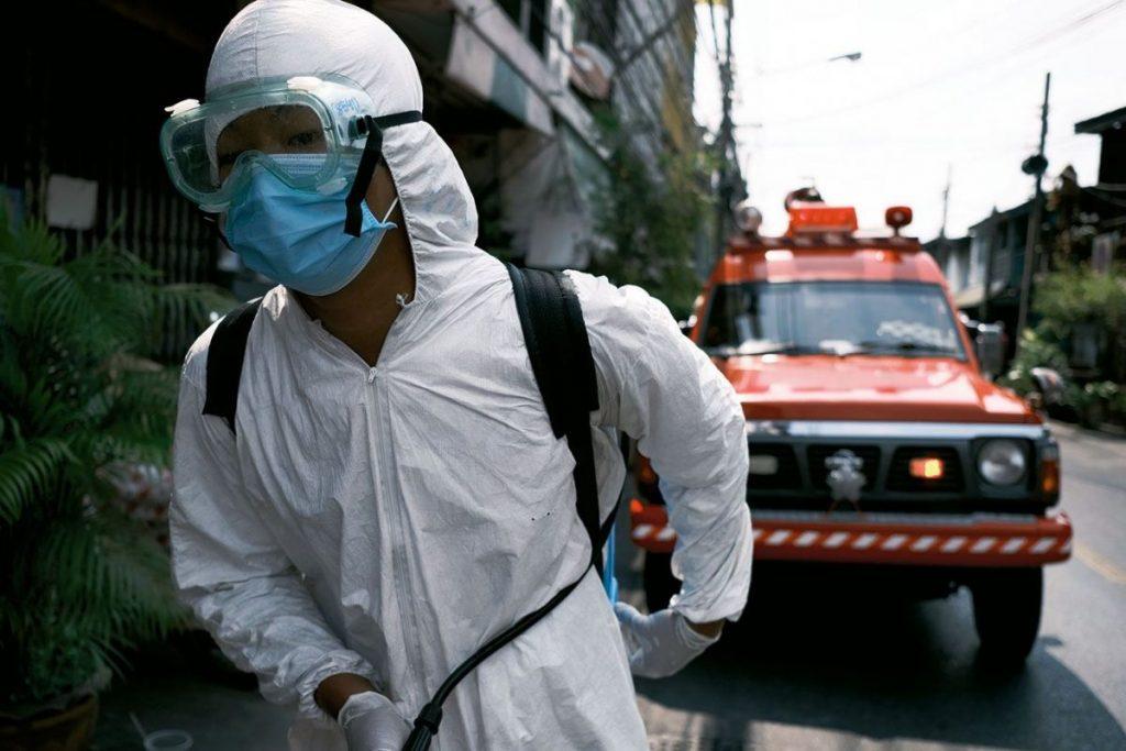 โควิด-19, หน่วยบรรเทาสาธารณภัย, ชุมชนคลองเตย