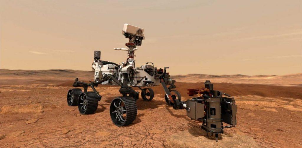 เพอร์เซเวียแรนซ์, สำรวจดาวอังคาร