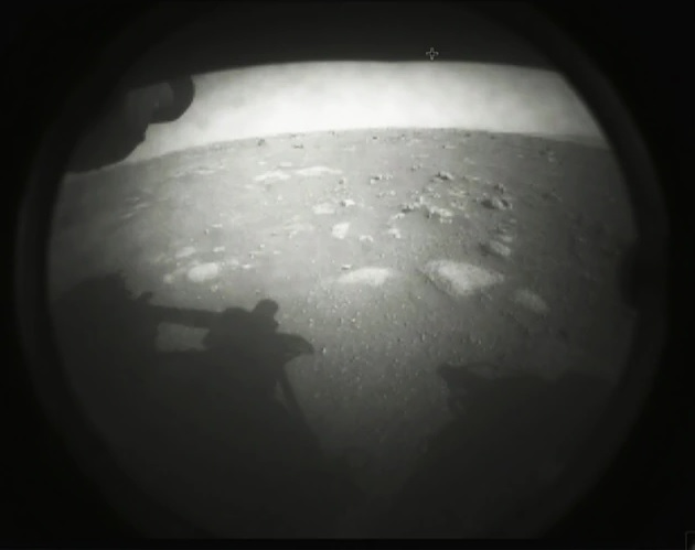 เพอร์เซเวียแรนซ์, หุ่นยนต์สำรวจ, ดาวอังคาร